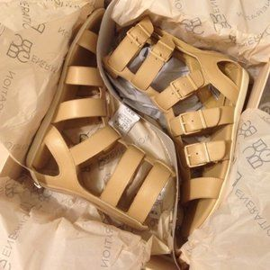 BCBG Gladiator Sandals.